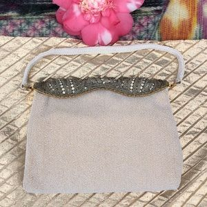 🌺 PRICELESS Vintage Beaded w/Bling Evening Purse!